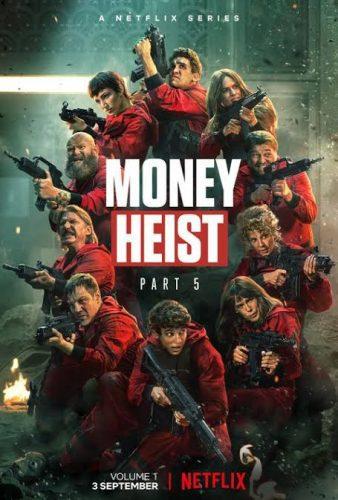 Money Heist Season 5 Movie by Netflix