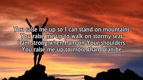 Selah - You raise me up
